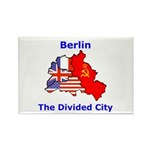 Berlin: The Divided City Rectangle Magnet (100 pac