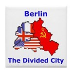 Berlin: The Divided City Tile Coaster
