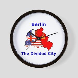 Berlin: The Divided City Wall Clock