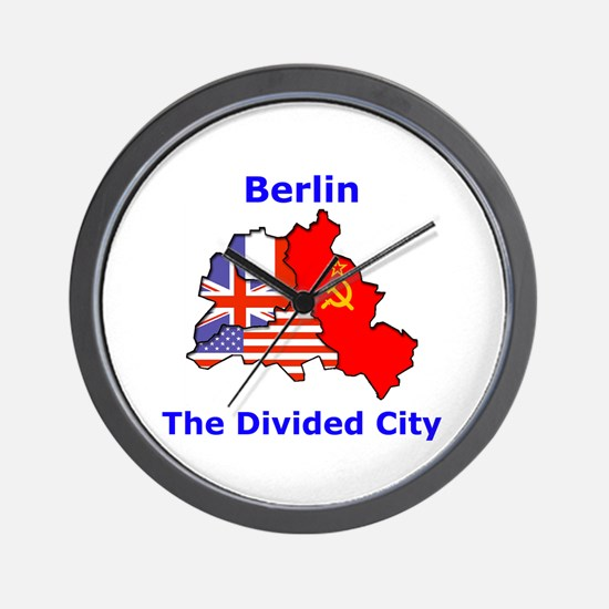 Berlin: The Divided City Wall Clock