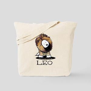 LEO Lion Westie Tote Bag
