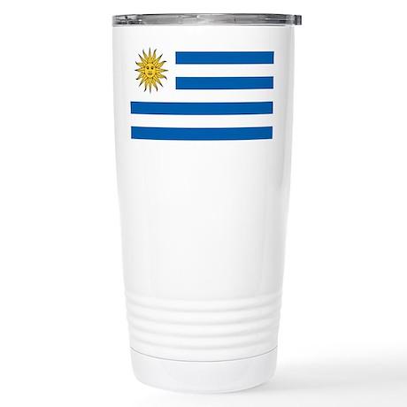 Flag of Uruguay Stainless Steel Travel Mug