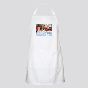 A VERY MERRY UNBIRTHDAY Apron