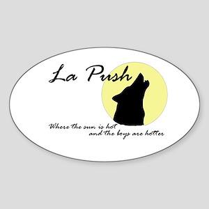 La Push Wolves Sticker (Oval)