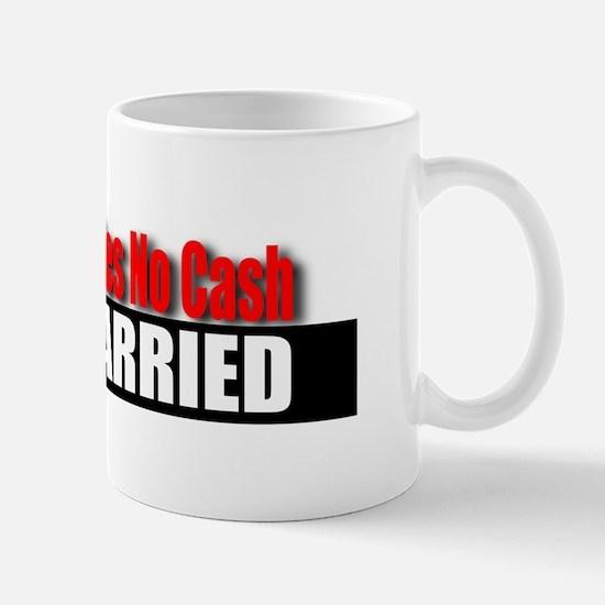 Driver Carries No Cash Mug