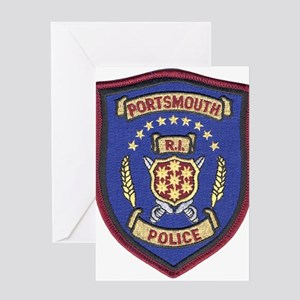 Portsmouth Police Greeting Card