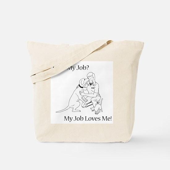 Veterinary Technician Design Tote Bag
