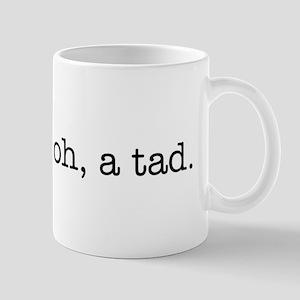 bitter? oh, a tad. Mug