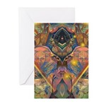 African Mysticism Greeting Cards (Pk of 10)