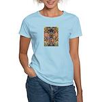 African Mysticism Women's Pink T-Shirt