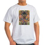 African Mysticism Ash Grey T-Shirt
