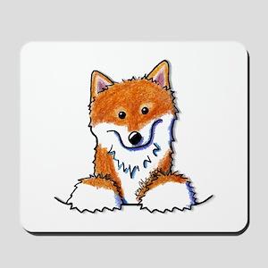 Pocket Shiba Inu Mousepad
