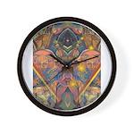 African Mysticism Wall Clock