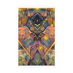 African Mysticism Rectangle Sticker