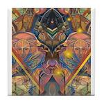 African Mysticism Tile Coaster