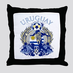 Uruguay Soccer Throw Pillow