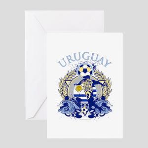 Uruguay Soccer Greeting Card
