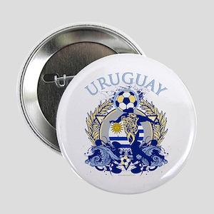 "Uruguay Soccer 2.25"" Button"