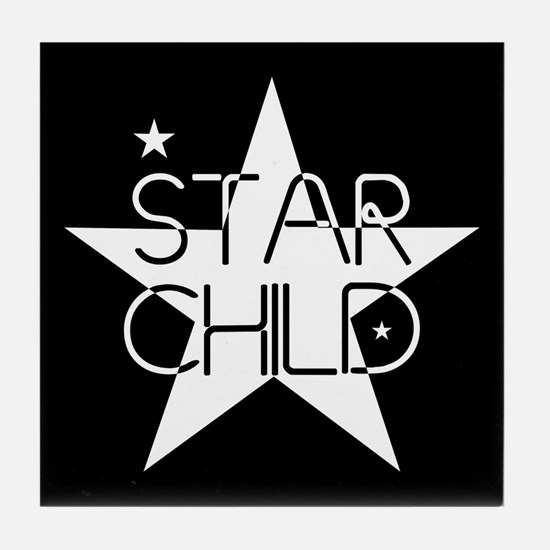 Star Child Tile Coaster