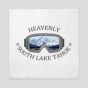 Heavenly Ski Resort - South Lake Tah Queen Duvet