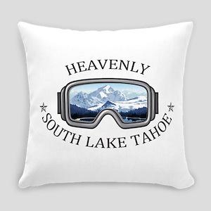 Heavenly Ski Resort - South Lake Everyday Pillow
