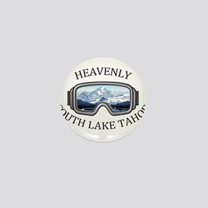 Heavenly Ski Resort - South Lake Tah Mini Button