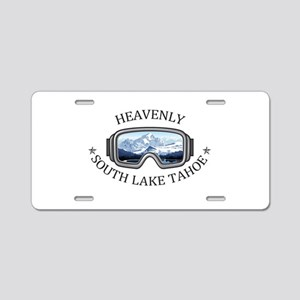 Heavenly Ski Resort - Sou Aluminum License Plate