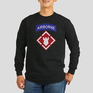 20th Engineer Brigade Long Sleeve Dark T-Shirt