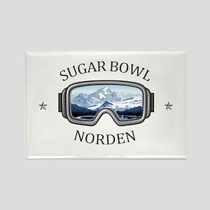 Sugar Bowl - Norden - California Magnets