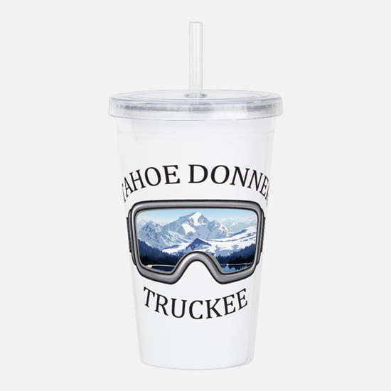 Tahoe Donner - Truck Acrylic Double-wall Tumbler