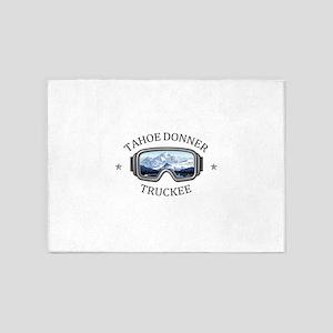 Tahoe Donner - Truckee - Californ 5'x7'Area Rug
