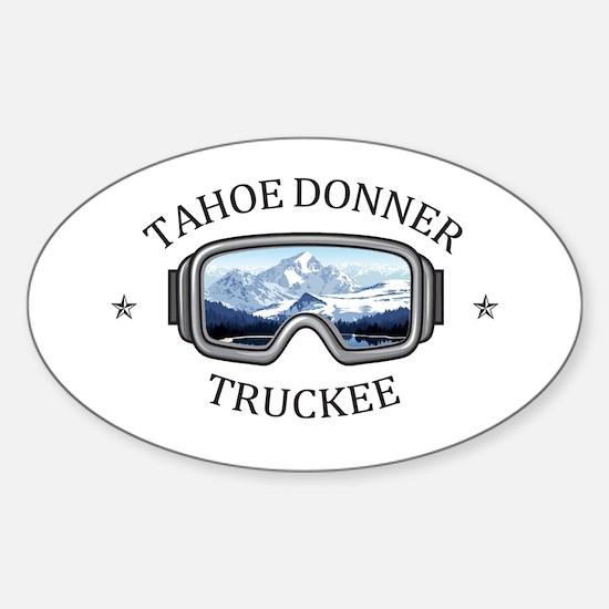 Tahoe Donner - Truckee - California Bumper Stickers