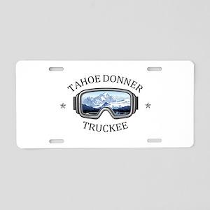 Tahoe Donner - Truckee - Aluminum License Plate