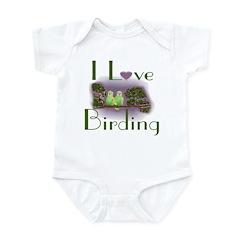 I Love Birding Infant Creeper