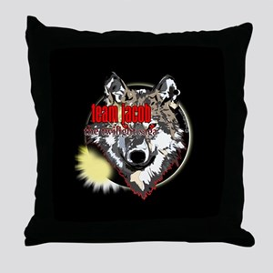 Team Jacob Eclipse by twibaby Throw Pillow