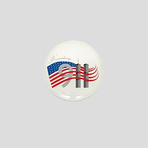 Remembering 911 Mini Button