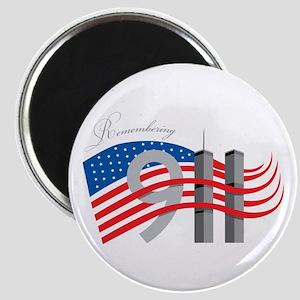 Remembering 911 Magnet
