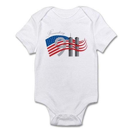 Remembering 911 Infant Bodysuit