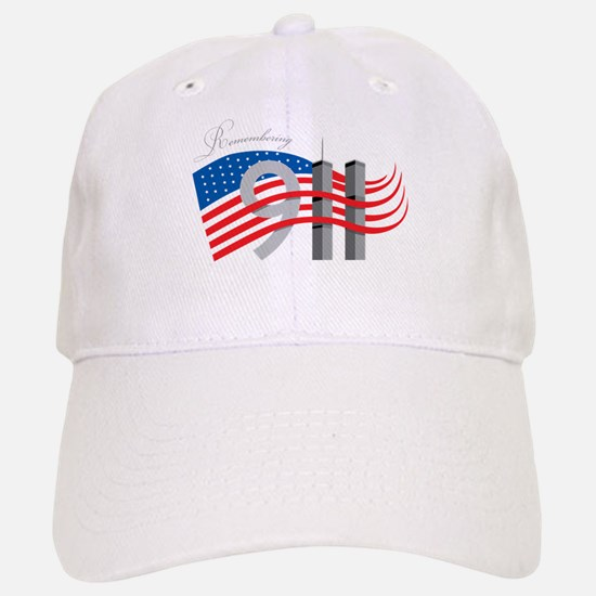 Remembering 911 Baseball Baseball Cap
