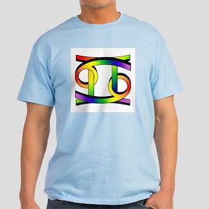 GLBT Cancer & Gemini Light T-Shirt