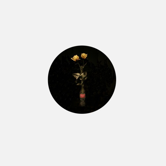 Yellow Roses Mini Button
