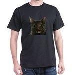CAT FACE Dark T-Shirt