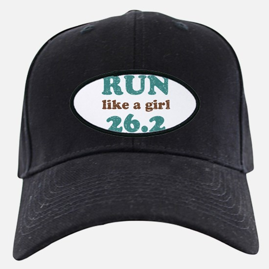 Run like a girl 26.2 Baseball Hat