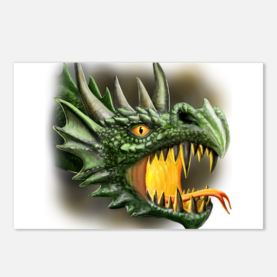 Roaring Dragon Postcards (Package of 8)