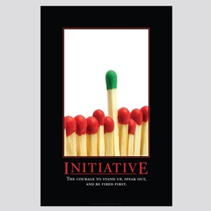 Initiative Large Poster