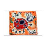 ladybug Mini Poster Print