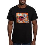 ladybug Men's Fitted T-Shirt (dark)