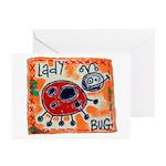 ladybug Greeting Cards (Pk of 20)