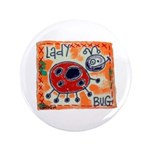 "ladybug 3.5"" Button (100 pack)"