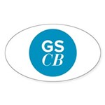 Sticker (Oval 10 pk)